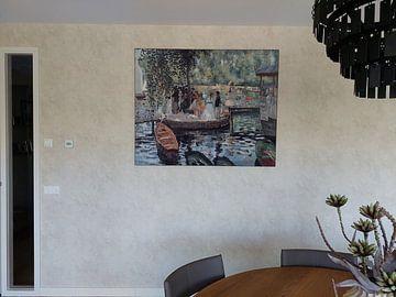 Klantfoto: Auguste Renoir. La Grenouillère