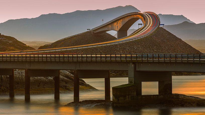 Atlantic Ocean Road, Møre og Romsdal, Noorwegen van Henk Meijer Photography