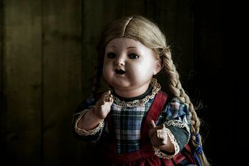 Puppen Portrait von Jürgen Wiesler