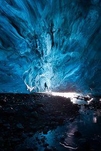 Blauw ijs van Koen Sachse