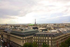 Zicht over Parijs van