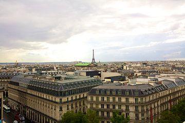 Zicht over Parijs von Charlotte Meindersma