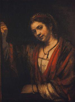 Porträt von Hendrickje Stoffels, Rembrandt van Rijn