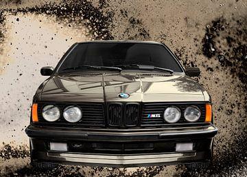 BMW M635CSi E24 n antiek patina van aRi F. Huber