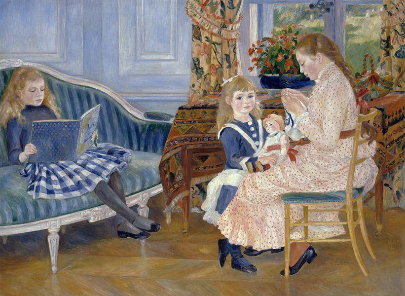 Auguste Renoir. Middag met de kinderen