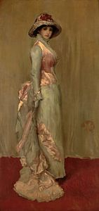 Harmonie in Rosa und Grau: Lady Meux, James Abbott McNeill Whistler
