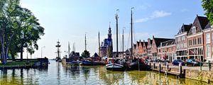 Panorama Hoorn Oude Haven Kruittoren Noord-Holland Nederland