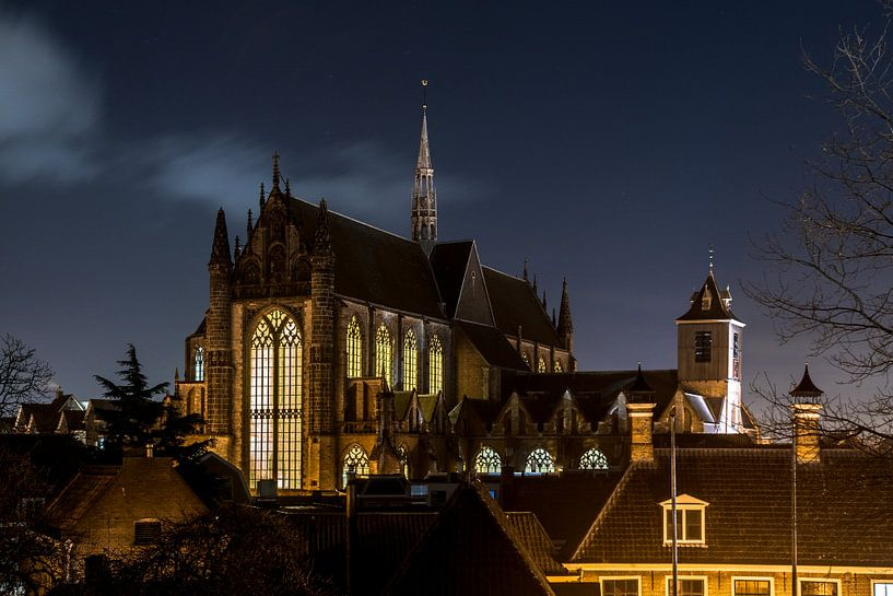 Hooglandse kerk Leiden van Dirk van Egmond