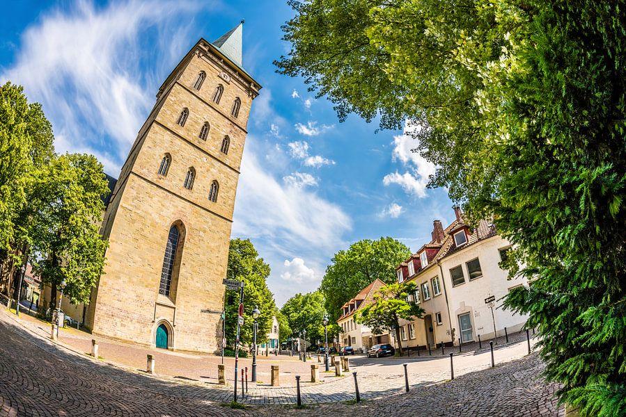 Katharinenkirche in Osnabrueck, Germany van Günter Albers