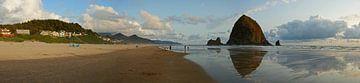 Cannon Beach, Heuhaufen-Felsen von Jeroen van Deel