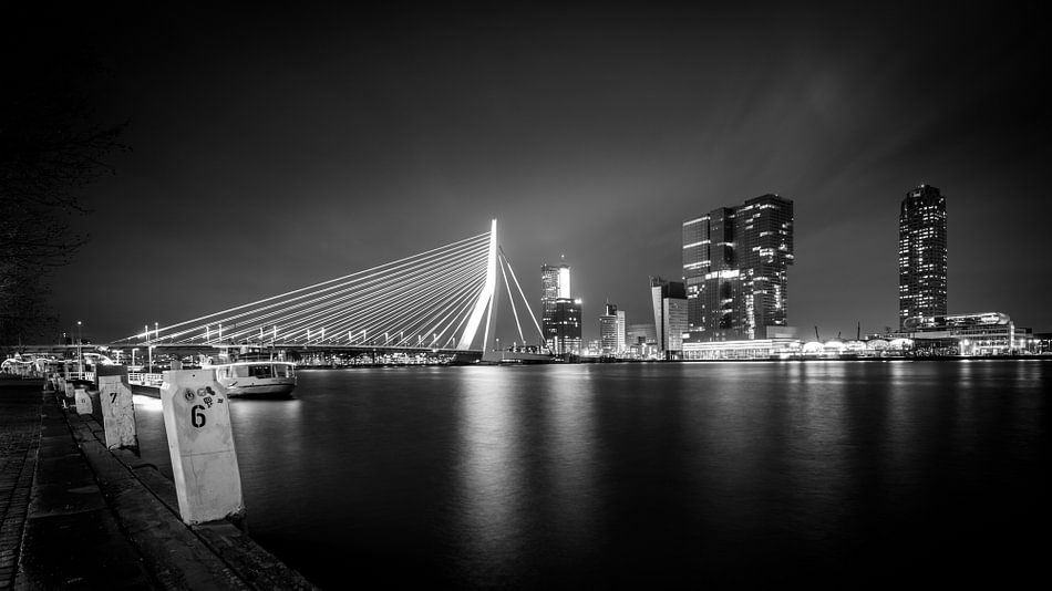 Rotterdam Skyline I  van Dennis Wierenga