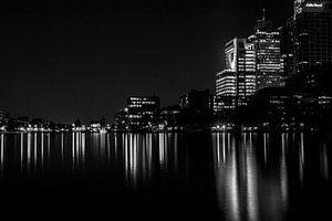 Amsterdam, Amstel bij avond