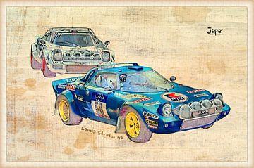 Lancia Stratos HF von JiPé digital artwork
