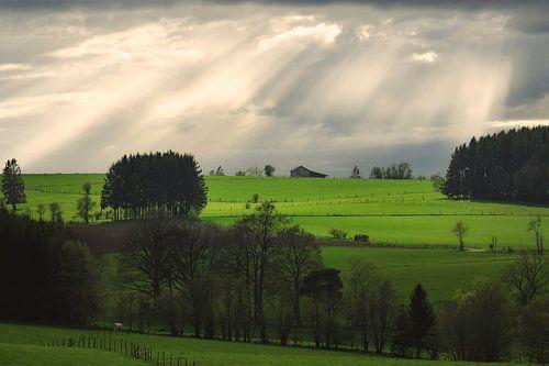 Boerderij op de heuvel