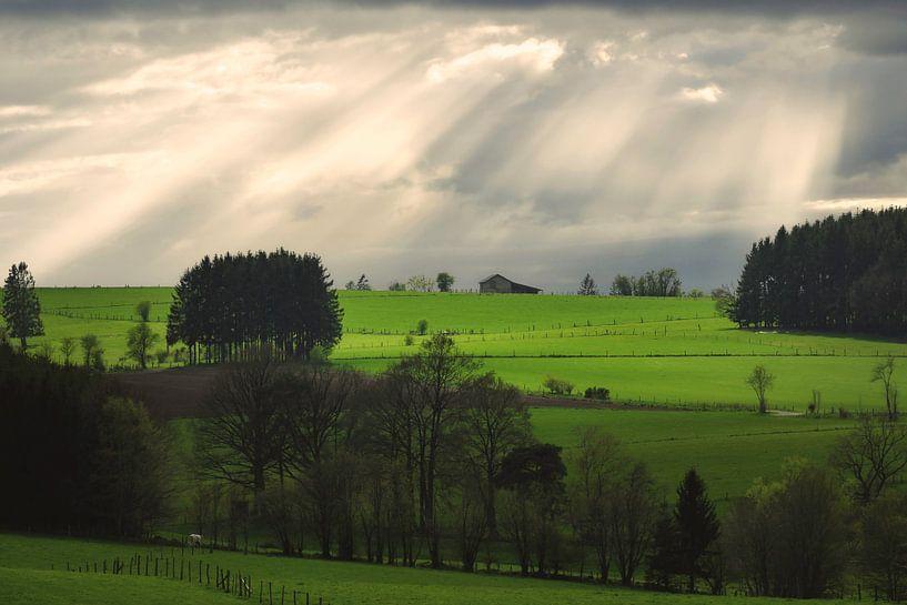Bauernhof auf dem Hügel von Arjen Roos