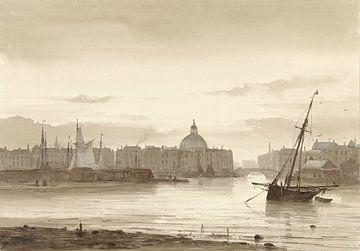 De Buitenkant en de Ronde Lutherse Kerk te Amsterdam van Rebel Ontwerp