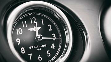 Breitling Bentley klok zwart wit von Ansho Bijlmakers