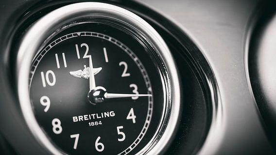 Breitling Bentley klok zwart wit