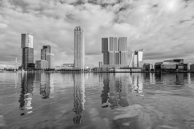 Rotterdam Rijnhaven en Wilhelminapier van MS Fotografie   Marc van der Stelt