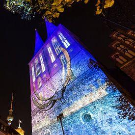 Nikolaikirche Berlin in besonderem Licht von Frank Herrmann