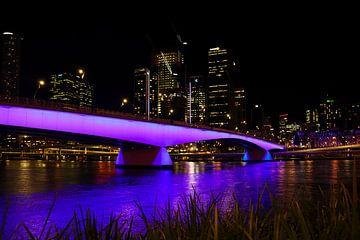 Brug over de Brisbane River van Ginkgo Fotografie