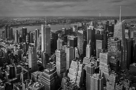 Manhattan (New York City) panorama van Alexander Mol