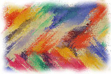 Abstrakter Pointillismus von Maurice Dawson
