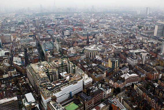 Londen in vogelvlucht van Paul Teixeira
