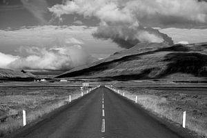 Weg op IJsland van
