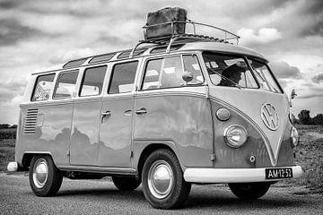 Volkswagen Transporter T1 Samba camper uit de jaren '50 klassieke camper van