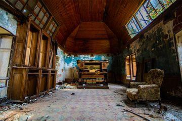 Het verlaten orgel van Geert den Tek