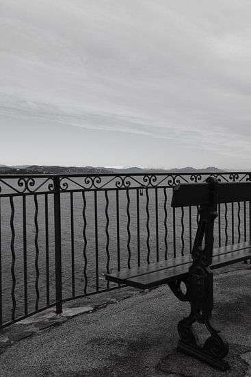View on the French Riviera van Tom Vandenhende