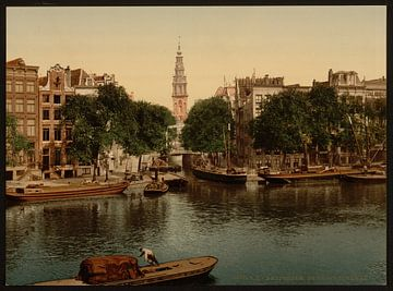 Groenburgwal, Amsterdam van Vintage Afbeeldingen