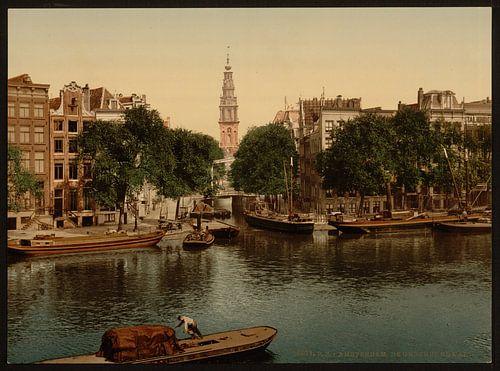 Groenburgwal, Amsterdam von Vintage Afbeeldingen