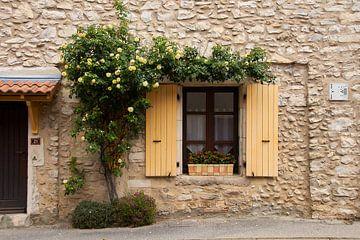 Oude ramen en deuren van