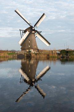 windmills in Kinderdijk Holland