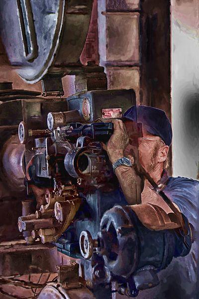 Cameraman van Frans Van der Kuil