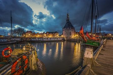 Le port de Hoorn sur Bart Hendrix