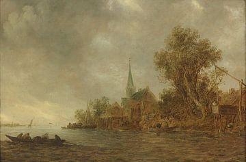 Flusslandschaft, Jan van Goyen