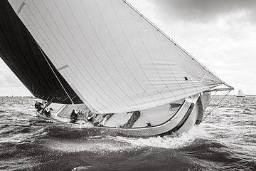 Skimütze auf dem Tjeukemeer-See von ThomasVaer Tom Coehoorn