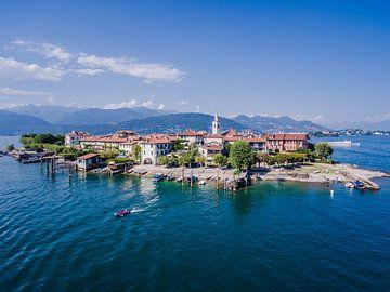 Isola del Pescatore - Lago Maggiore von Frans Janssen
