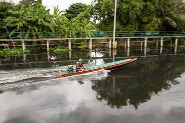 Per boot door Bangkok van