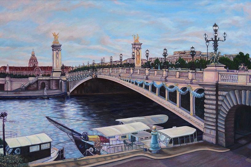 Pont Alexandre III in Paris von David Morales Izquierdo