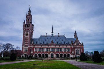 Het Vredespaleis in Den Haag van Wouter Kouwenberg