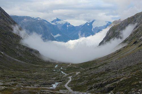 Sognefjellet over het dak van Noorwegen von Ad Hoeks