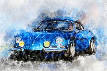 Renault Alpine A110 von Theodor Decker