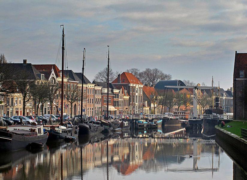 Zwolle Thorbeckekanaal van Franke de Jong