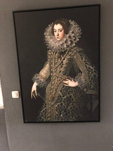 Klantfoto: Koningin Elizabeth van Bourbon van Diverse Meesters
