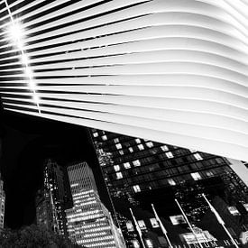 New York bei Nacht van Kurt Krause