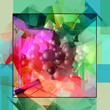 Abstracte snuisterij 03 van Gertrud Scheffler